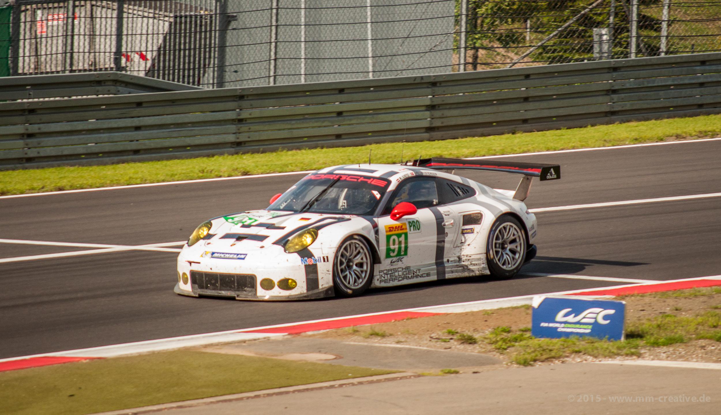 Manthey Racing WEC 2015 am Nürburgring