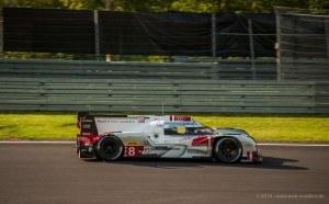 Audi etron quattroNr 8 am Nürburgring