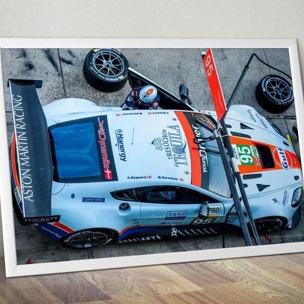 Aston Martin Vantage GTE als Poster kaufen