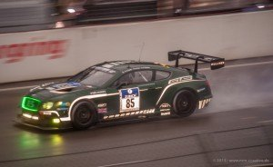 Bentley Continental GT3-R green