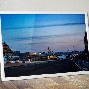 2015012 Nürburgring Abendstimmung 2015 24h Rennen Muster
