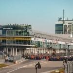 Startaufstellung - VLN Lauf 1 62. ADAC Westfalenfahrt