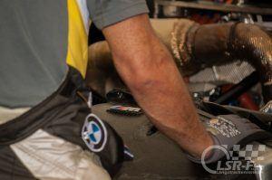BMW M6 GT3 im Fahrerlager, ADAC Zurich 24h Rennen Nürburgring