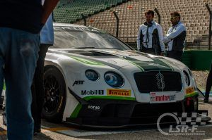Bentley Team Abt  @ Adac GT Masters am Hockenheimring
