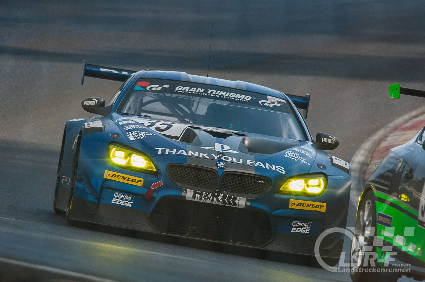 """Walkenhorst Motorsport """"Playstation"""" BMW M6 GT3 41. DMV Münsterlandpokal VLN 10"""