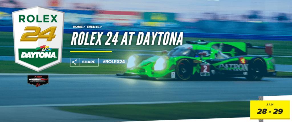 Rolex 24h von Daytona Titelbild