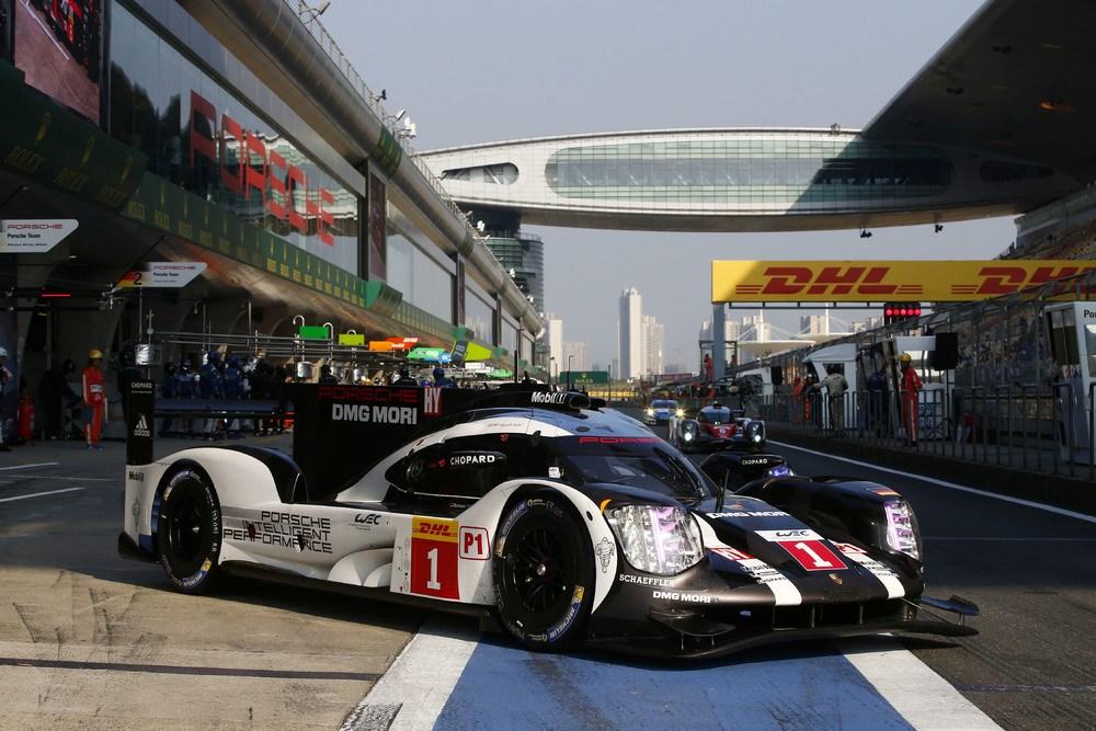 WEC: Porsche 919 Hybrid Pole Position in Shanghai