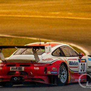 Rennsportfoto Porsche 911 RSR Frikadelli Racing Heck