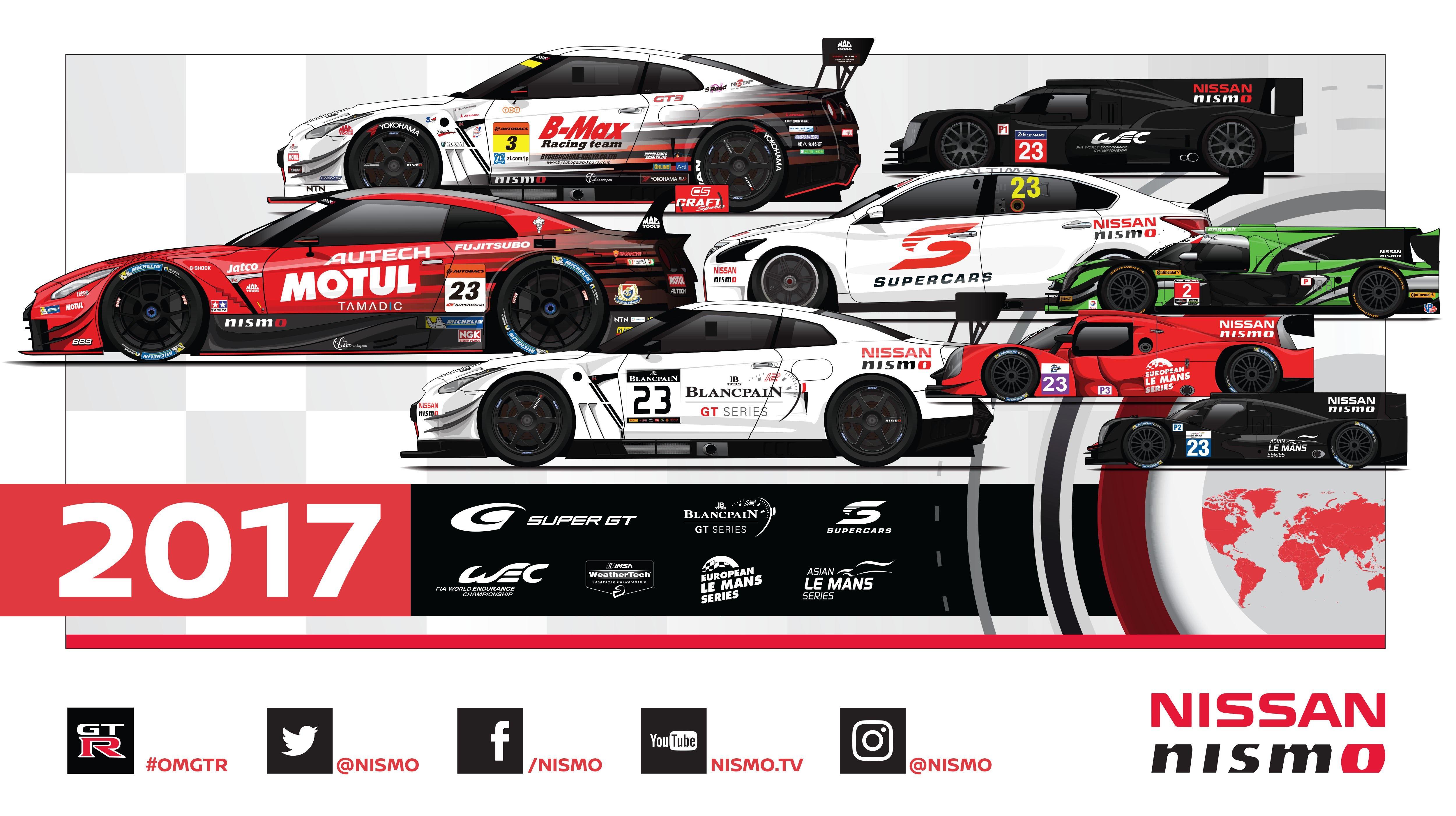 Nissan Nismo Motorsportprogramm 2017