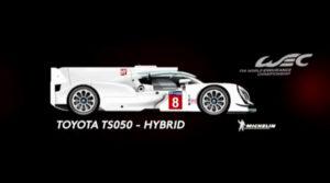 Toyota TS050 Hybrid #08