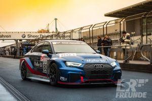Test- & Einstellfahrten VLN 2017 - Moller Bil Motorsport Audi RS3 TCR