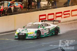Test- & Einstellfahrten VLN 2017 - Land-Motorsport Audi R8 LMS