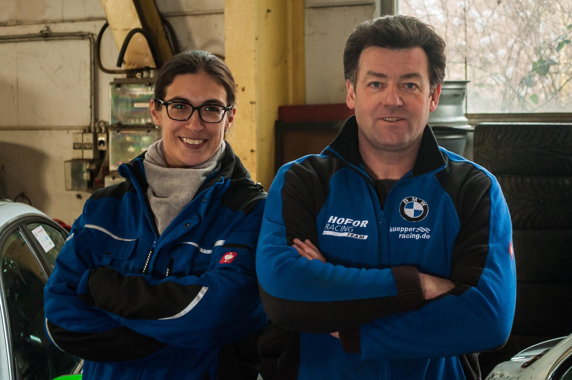 Carmen Groß und Bernd Küpper