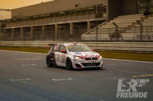 Test- & Einstellfahrten VLN 2017 - Nett Motorsport Peugeot 308 TCR