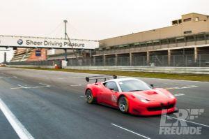 Test- & Einstellfahrten VLN 2017 - Racing One GmbH Ferrari 458 Competition