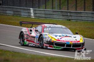 Wochenspiegel Team rinaldi racing Ferrari N24h Qualifikationsrennen