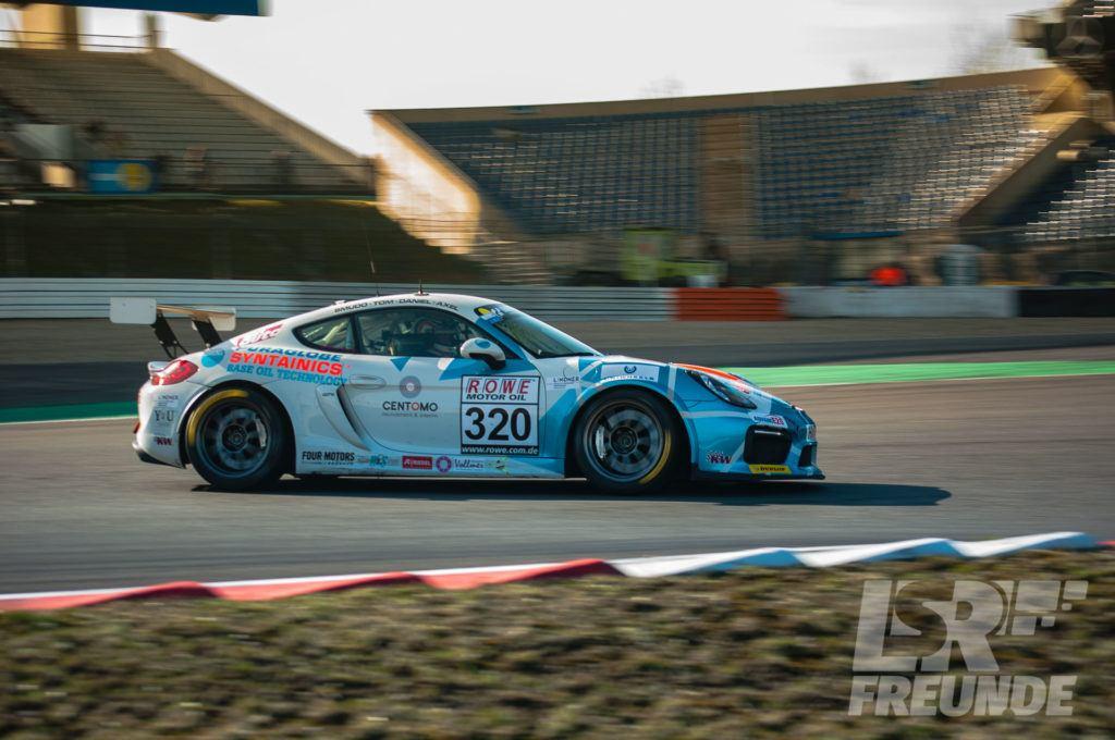 Four Motors Porsche Cayman GT4 - 63. Westfalenfahrt Nürburgring