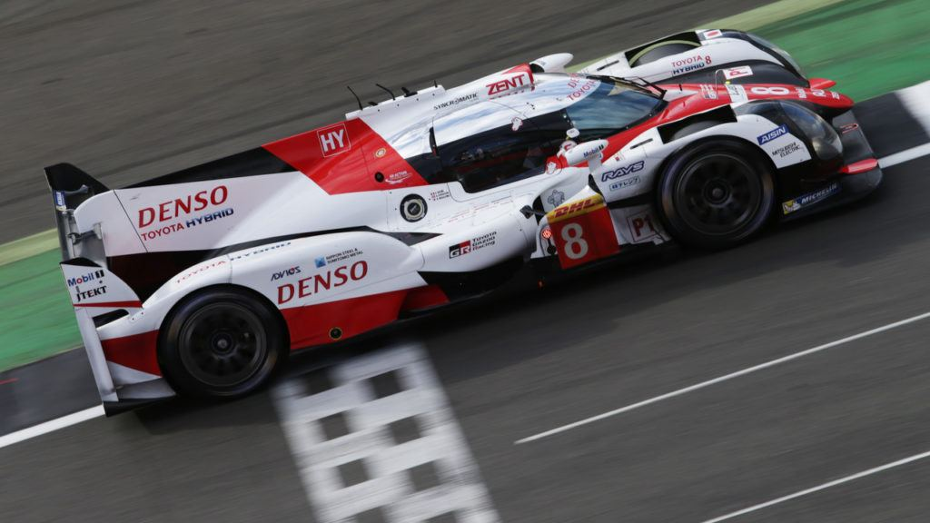 Toyota GAZOO Racing vor Start in Spa-Francorchamps