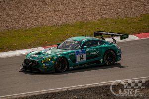"""Mercedes AMG GT3 """"Black Falcon"""", ADAC Zurich 24h Rennen Nürburgring"""