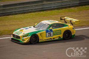 """Mercedes AMG GT3 """"Zakspeed MannFilter"""", ADAC Zurich 24h Rennen Nürburgring"""