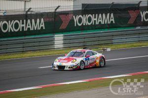 """Porsche 991 R GT3 """"Frikadelli Racing"""" Ende Start-Ziel Gerade, ADAC Zurich 24h Rennen"""