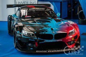 BMW Z4 GT3 Walkenhorst Motorsport im Ring Boulevard am Nürburgring
