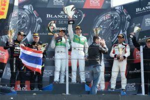 rinaldi racing Sieg in Misano beim Blancpain GT Series Auftakt